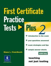 Cover of: Fce Practice Tests Plus 2 (PTP)