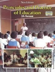 Cover of: Principles and Practice of Education