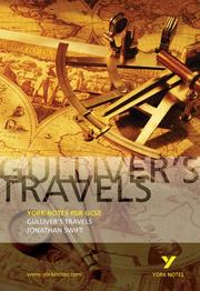 "Cover of: York Notes on ""Gulliver's Travels"""