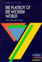 "Cover of: J.M.Synge, ""Playboy of the Western World"""