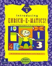Cover of: Introducing Enrichematics Book 1