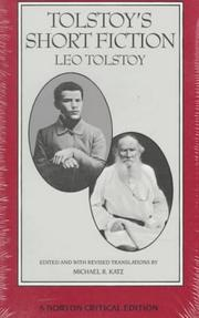 Cover of: Tolstoy's short fiction | Tolstoy