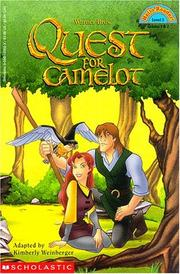 Cover of: Quest for Camelot | Kimberly A. Weinberger