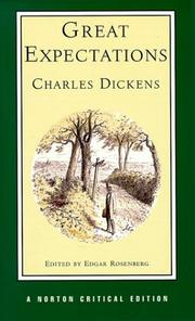 Cover of: Great expectations | Charles Dickens