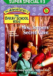 Cover of: Mrs. Jeepers' Secret Cave