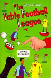 Cover of: The Table Football League (Hippo)