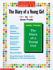Cover of: Literature Guide: Anne Frank