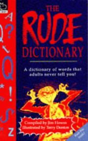 Cover of: The Rude Dictionary