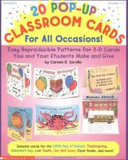 Cover of: 20 Pop-Up Classroom Cards for All Occasions! (Grades 1-3)