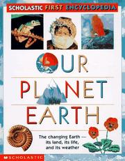 Cover of: Our planet earth