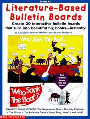 Cover of: Literature-based bulletin boards