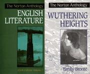 Cover of: The Norton Anthology of English Literature, Sixth Edition, Vol. 2/Wuthering Heights