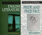 Cover of: The Norton Anthology of English Literature, Sixth Edition, Vol. 2/Pride and Prejudice