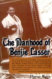 Cover of: The Manhood of Benjie Lasser