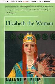Cover of: Elizabeth the Woman