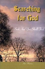 Cover of: Searching for God