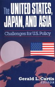 Cover of: The United States, Japan and Asia | C. Michael Aho