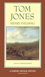 Cover of: Tom Jones by Henry Fielding