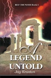 Cover of: A Legend Untold (Red Thunder, Book 1)