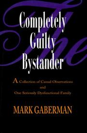 Cover of: The Completely Guilty Bystander