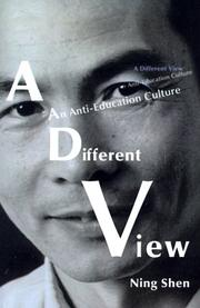 Cover of: A Different View