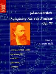 Cover of: Symphony No. 4 In E minor, Op. 98 (Norton Critical Scores)