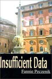 Cover of: Insufficient Data