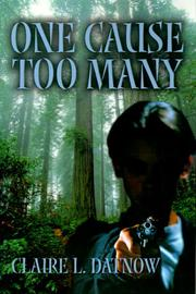 Cover of: One Cause Too Many