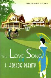 Cover of: The Love Song of J. Roscoe Plenty