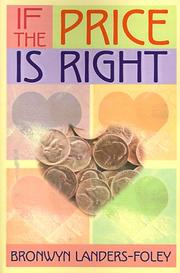 Cover of: If the Price Is Right