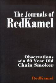 Cover of: The Journals of Redkamel