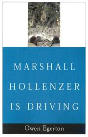 Cover of: Marshall Hollenzer Is Driving