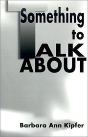 Cover of: Something to Talk About