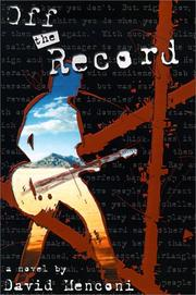 "Cover of: ""Off The Record"""