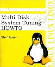 Cover of: Multi Disk System Tuning Howto