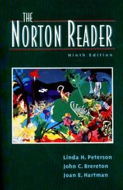 Cover of: The Norton Reader |
