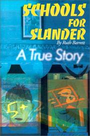 Cover of: Schools for Slander