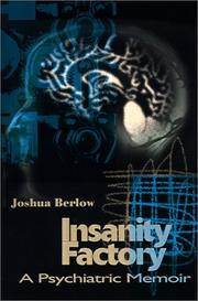Cover of: Insanity Factory