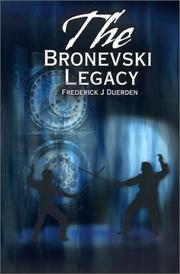 Cover of: The Bronevski Legacy