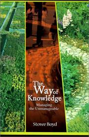 Cover of: The Way of Knowledge
