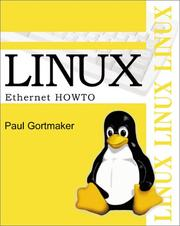 Cover of: Linux Ethernet Howto