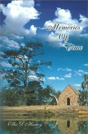 Cover of: Memories of Time