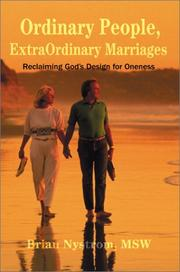 Cover of: Ordinary People, ExtraOrdinary Marriages