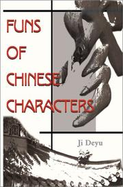 Cover of: Funs of Chinese Characters