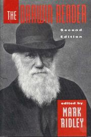 Cover of: The Darwin reader