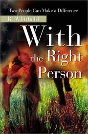 Cover of: With the Right Person | R. Whitfield