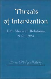 Cover of: Threats of Intervention