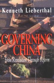Cover of: Governing China | Kenneth Lieberthal