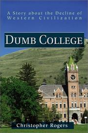 Cover of: Dumb College