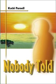 Cover of: Nobody Told